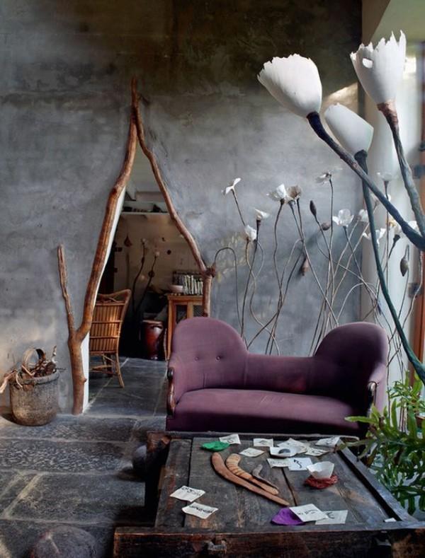 Natur ins Haus holen mit Naturelementen dekorieren ideen