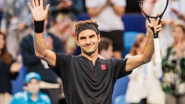 Roger Federer großartige Sportleistung Nummer-1-Tennisspieler