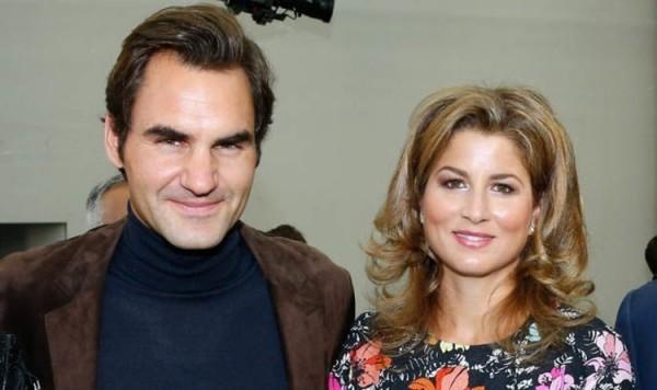 Roger Federer und Mirka ein glückliches Ehepaar