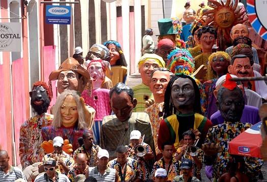 Salvador da Bahia Karnevalskostüme