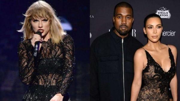 Streit zwischen Taylor Swift und Kimye Ehepaar