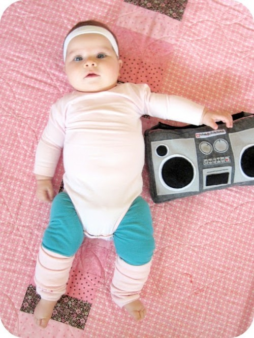 aerobik baby karneval kostüm