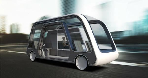 autonomous travel suite selbstfahrendes hotelzimmer