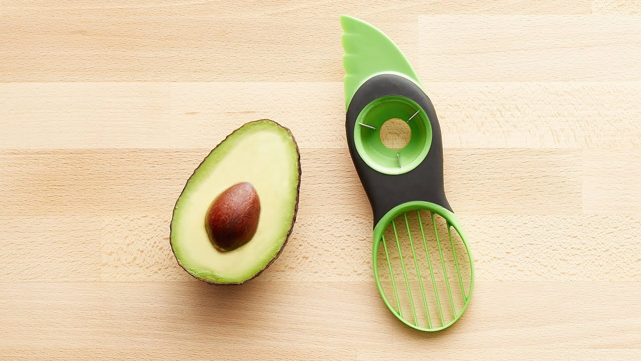 avocado küchenhelfer 3-in-1