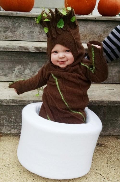 baby karneval kostüm baum