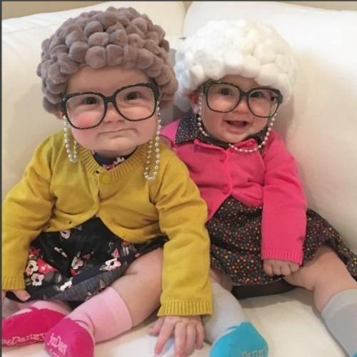baby karneval kostüm idee als omas