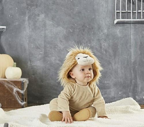 baby karneval kostüm idee löwe