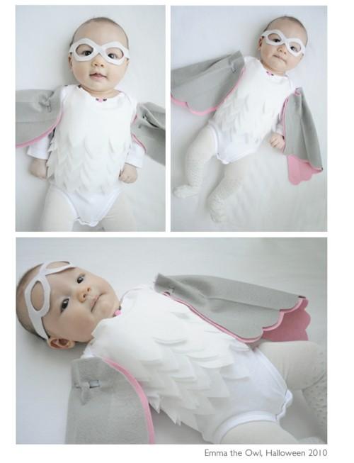 baby karneval kostüm ideen vogel
