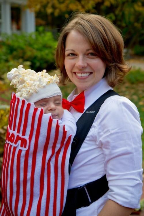 baby karneval kostüm popcorn