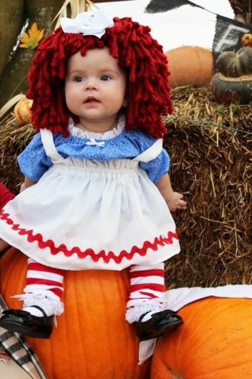 baby karneval kostüm puppe