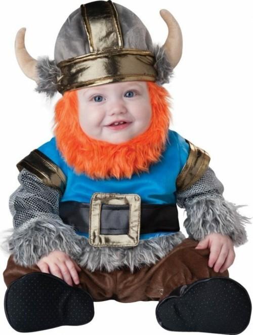 baby karneval kostüm wiking