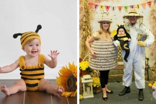 bienchen baby karneval kostüm idee