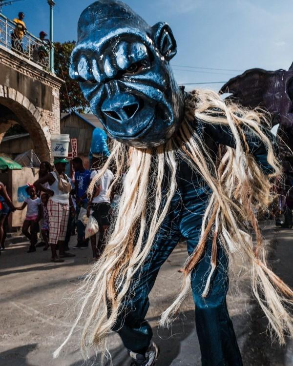 blaue gestalt karnevalskostüme ideen