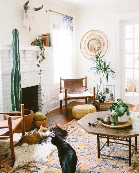 boho style interior ideen
