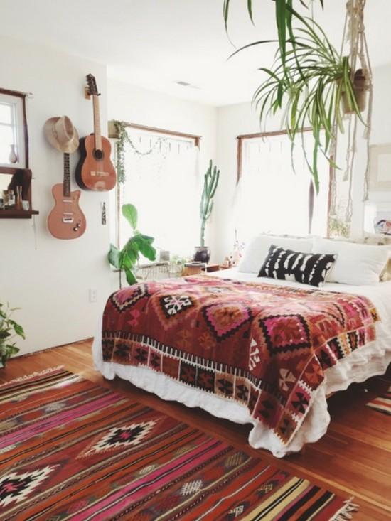 boho style schlafzimmer orientalisch einrichten