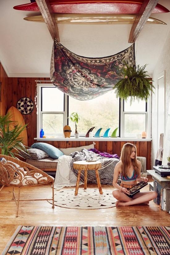 boho style villa einrichten