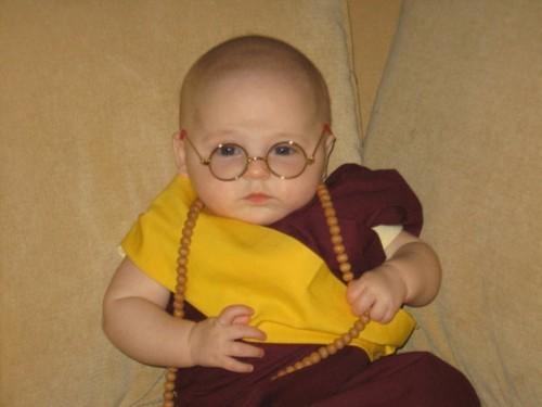 dalai lama baby karneval kostüm