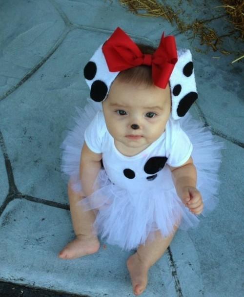 dalmatiner baby karneval kostüm