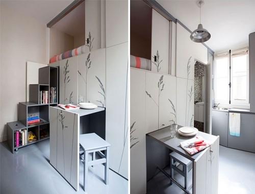 dezente ideen in grau einzimmerwohnung
