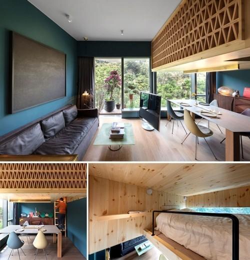 Einzimmerwohnung einrichten - 50 Ideen zur Modernisierung