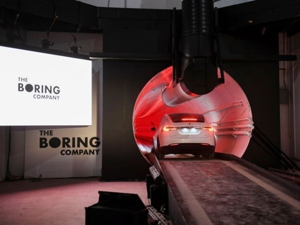 elon musk the boring company tunnel gegen stau