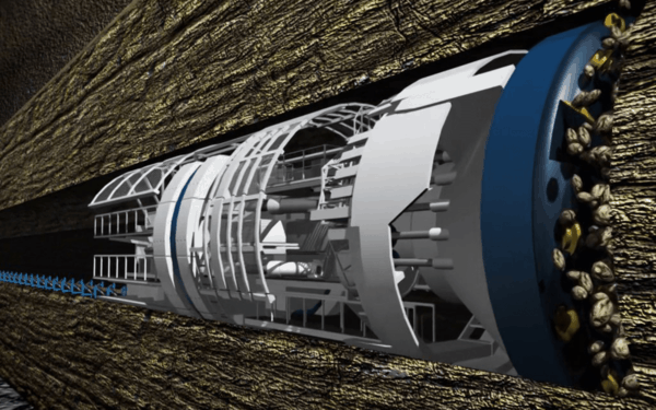 elon musk tunnel the boring company