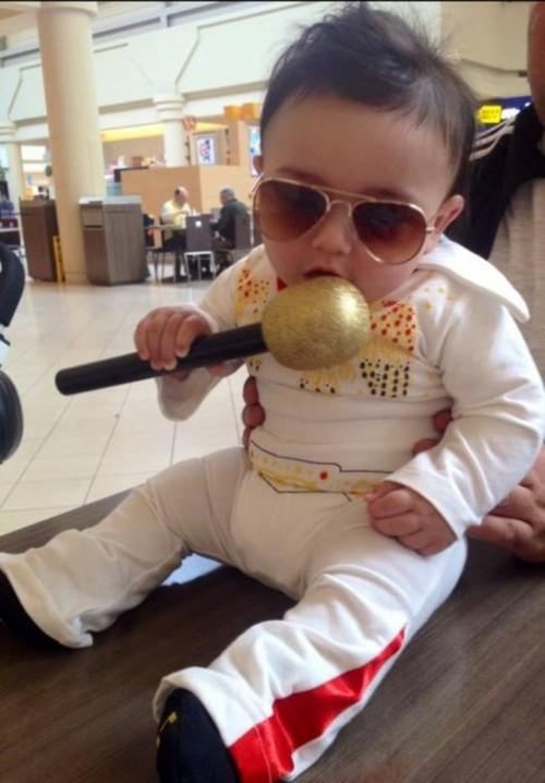 elvis baby karneval kostüm idee