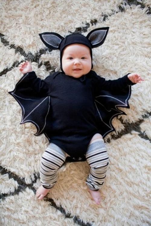 fledermaus baby karneval kostüm idee