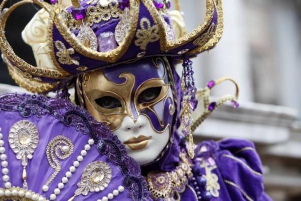 gold und lila ideen karnevalskostüme ideen