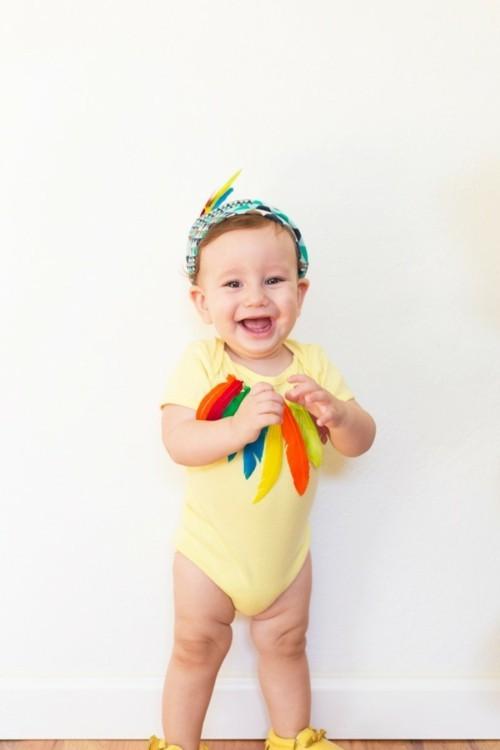 indianer baby karneval kostüm
