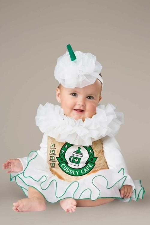 kaffee baby karneval kostüm