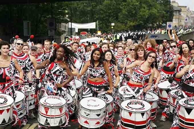 karibische gemeinde nothing hill england karnevalskostüme