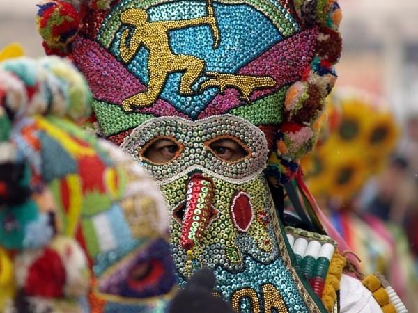 karnevalskostüme ideen bulgarische maske