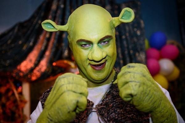 karnevalskostüme ideen grüner schrecken