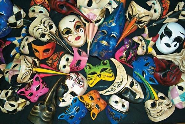 karnevalskostüme ideen mehrere tolle masken