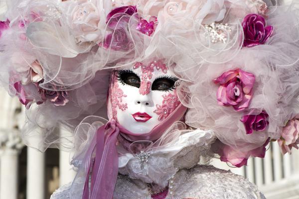 karnevalskostüme ideen toll in rosa undweiß