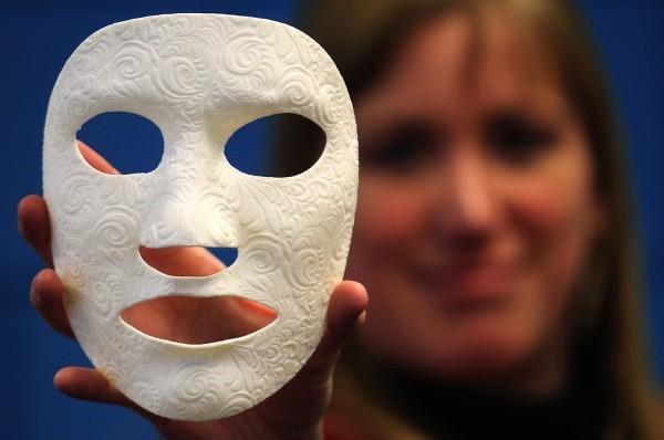karnevalskostüme ideen tolle weiße maske