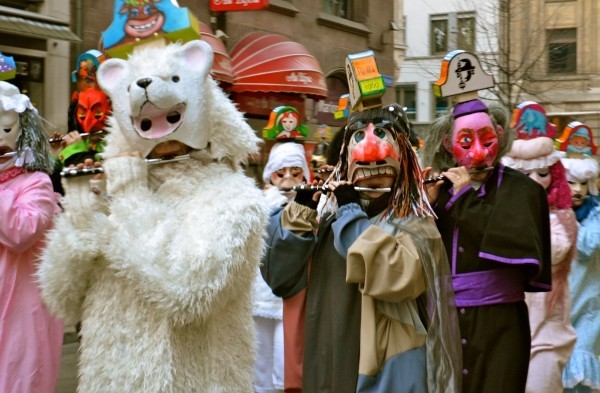 karnevalskostüme ideen verschiedene masken
