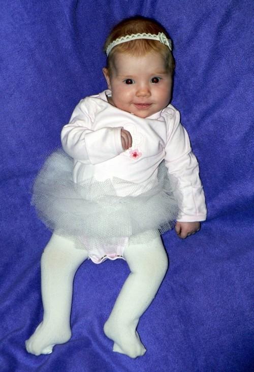 kleine ballerina baby karneval kostüm