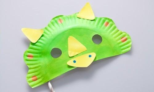kreative maske basteln mit kindern