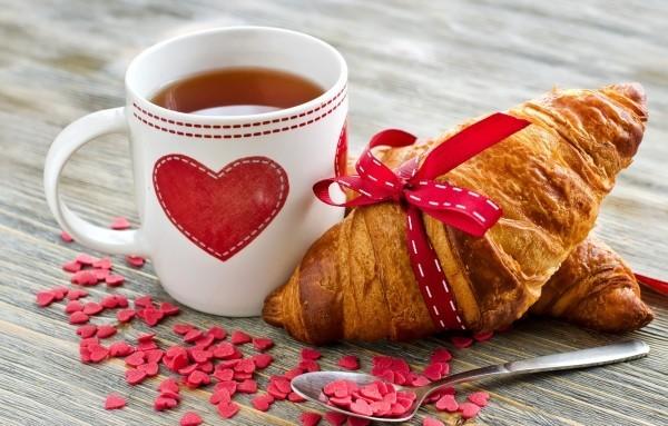 liebevolles Frühstück valentinstag ideen