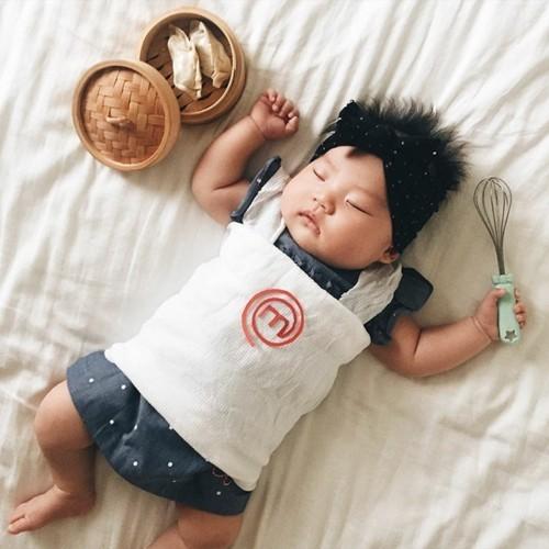 master chef baby karneval kostüm idee