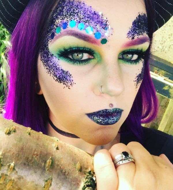 meerjungfrau schminken karnevalkostüm ideen