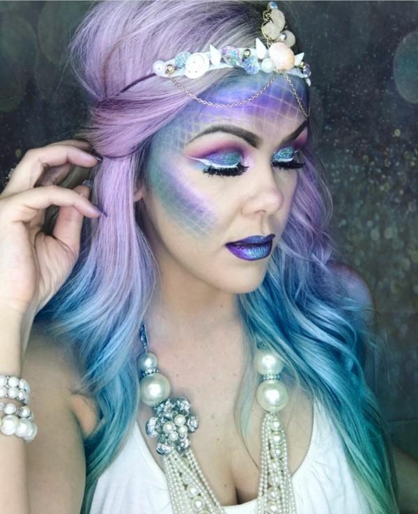 Meerjungfrau Schminken 70 Ideen Für Kleine Und Große Nixen