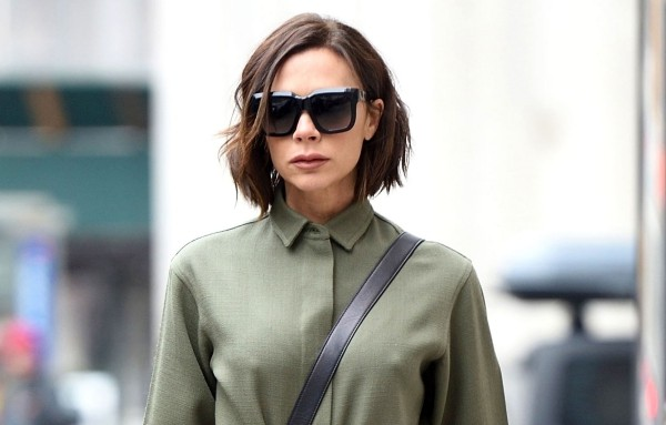 miltary outfit victoria beckham