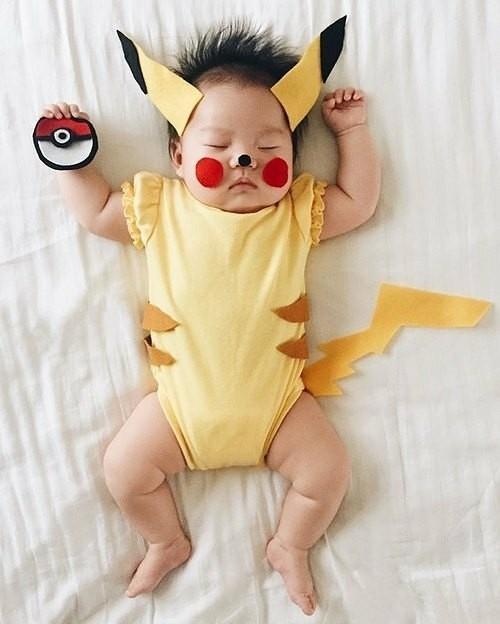 pikachu baby karneval kostüm