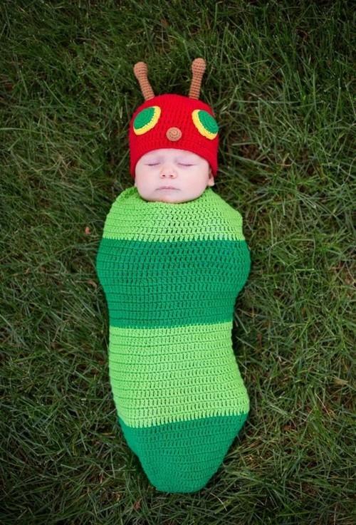 raupe baby karneval kostüm
