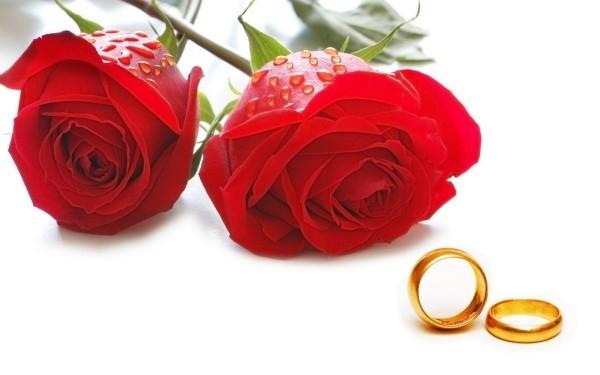 rosen mit tränen ringe valentinstag ideen