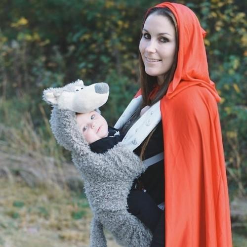 rotes käppchen wolf baby karneval kostüm