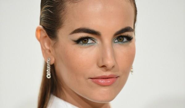 schlupflider richtig schminken grüne eyeshadows